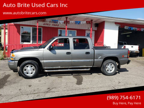 2006 GMC Sierra 1500 for sale at Auto Brite Used Cars Inc in Saginaw MI