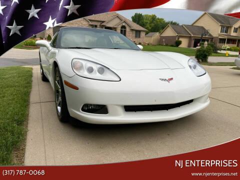 2007 Chevrolet Corvette for sale at NJ Enterprises in Indianapolis IN