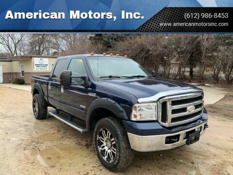 2005 Ford F-250 Super Duty for sale at American Motors, Inc. in Farmington MN