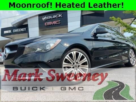 2018 Mercedes-Benz CLA for sale at Mark Sweeney Buick GMC in Cincinnati OH