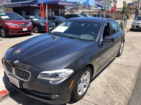 2013 BMW 5 Series for sale at Excelsior Motors , Inc in San Francisco CA