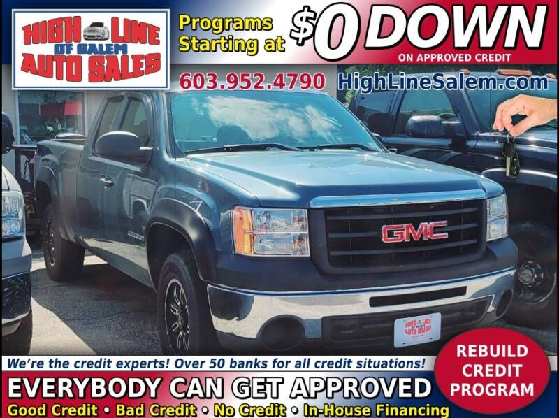 2011 GMC Sierra 1500 for sale at High Line Auto Sales of Salem in Salem NH