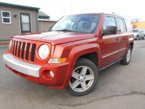 2010 Jeep Patriot for sale at MT MORRIS AUTO SALES INC in Mount Morris MI