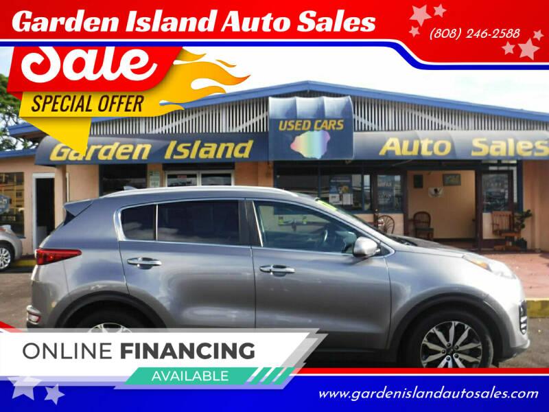 2017 Kia Sportage for sale at Garden Island Auto Sales in Lihue HI