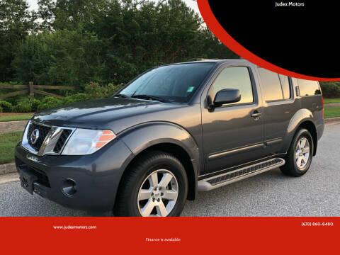 2011 Nissan Pathfinder for sale at Judex Motors in Loganville GA