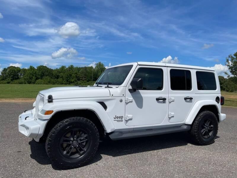 2020 Jeep Wrangler Unlimited for sale at LAMB MOTORS INC in Hamilton AL