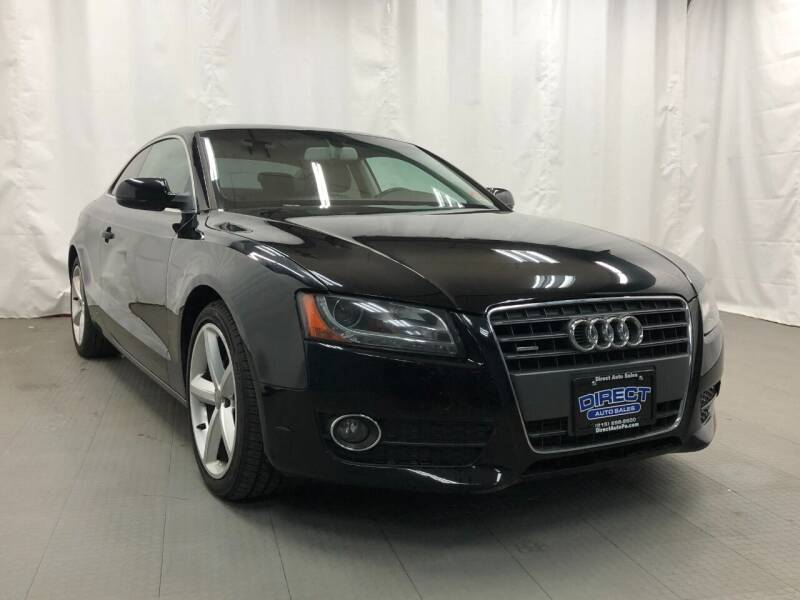 2010 Audi A5 for sale at Direct Auto Sales in Philadelphia PA
