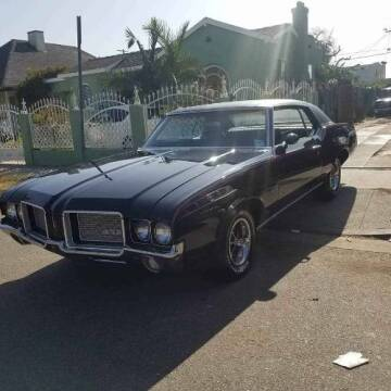 1972 Oldsmobile Cutlass for sale at Classic Car Deals in Cadillac MI