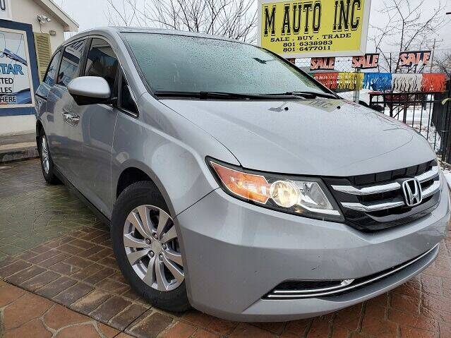 2016 Honda Odyssey for sale at M AUTO, INC in Millcreek UT