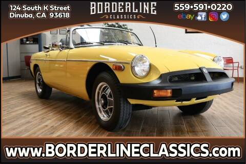 1980 MG MGB for sale at Borderline Classics in Dinuba CA