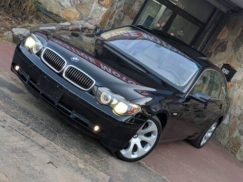 2005 BMW 7 Series for sale at Atlanta Prestige Motors in Decatur GA