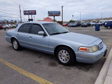 2003 Ford Crown Victoria for sale at Car Spot in Las Vegas NV