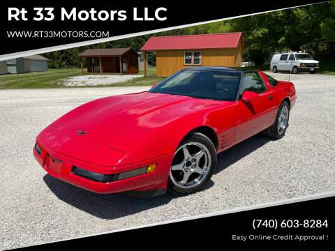 1992 Chevrolet Corvette for sale at Rt 33 Motors LLC in Rockbridge OH