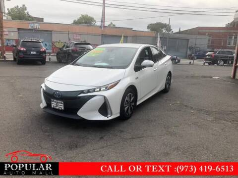2017 Toyota Prius Prime for sale at Popular Auto Mall Inc in Newark NJ