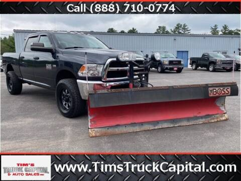 2016 RAM Ram Pickup 3500 for sale at TTC AUTO OUTLET/TIM'S TRUCK CAPITAL & AUTO SALES INC ANNEX in Epsom NH