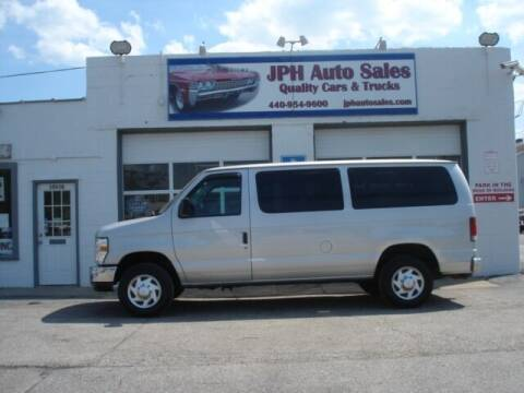 2010 Ford E-Series Wagon for sale at JPH Auto Sales in Eastlake OH