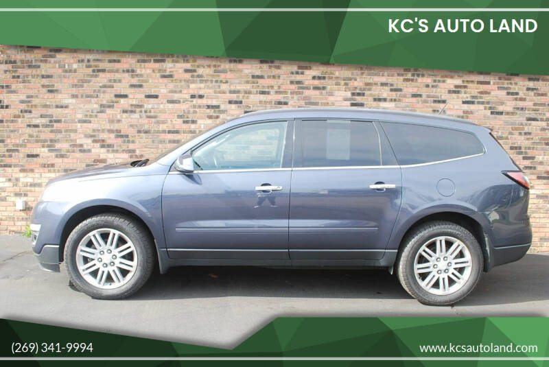 2014 Chevrolet Traverse for sale at KC'S Auto Land in Kalamazoo MI