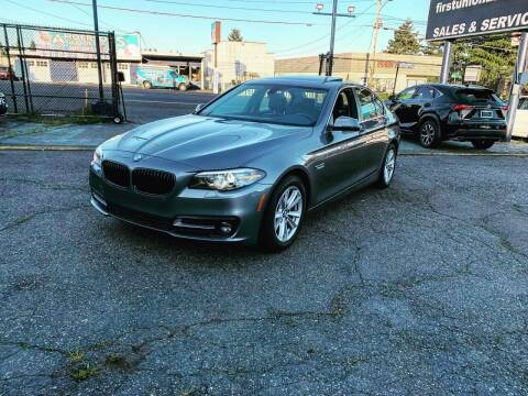 2015 BMW 5 Series for sale at First Union Auto in Seattle WA