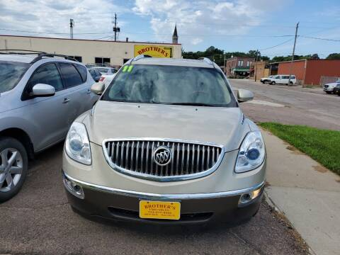 2011 Buick Enclave for sale at Brothers Used Cars Inc in Sioux City IA