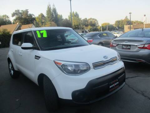 2017 Kia Soul for sale at Quick Auto Sales in Modesto CA