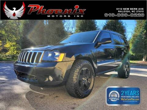 2008 Jeep Grand Cherokee for sale at Phoenix Motors Inc in Raleigh NC