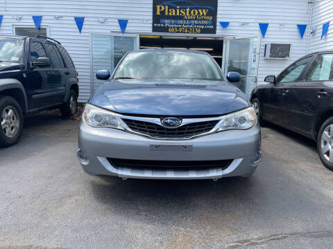 2008 Subaru Impreza for sale at Plaistow Auto Group in Plaistow NH