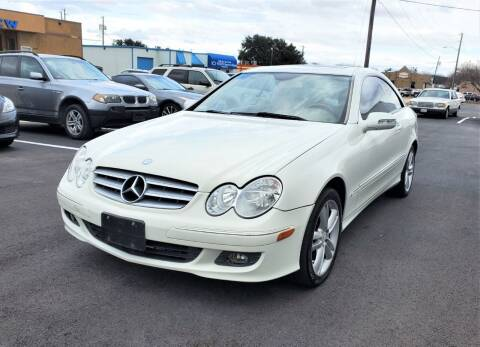 2008 Mercedes-Benz CLK for sale at Image Auto Sales in Dallas TX