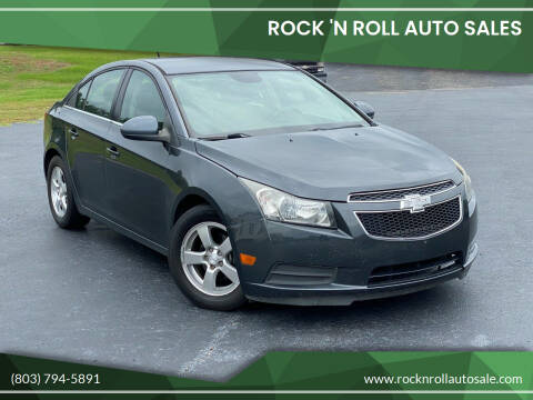 2013 Chevrolet Cruze for sale at Rock 'n Roll Auto Sales in West Columbia SC