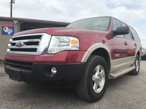 2007 Ford Expedition for sale at Texas Country Auto Sales LLC in Austin TX