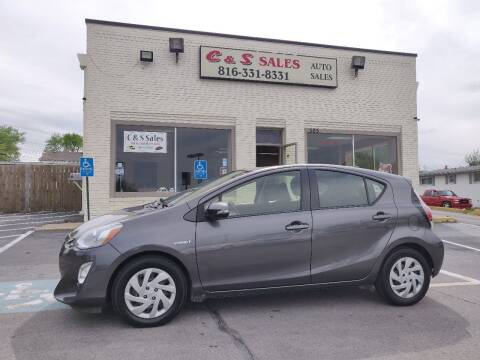 2015 Toyota Prius c for sale at C & S SALES in Belton MO