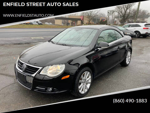 2007 Volkswagen Eos for sale at ENFIELD STREET AUTO SALES in Enfield CT