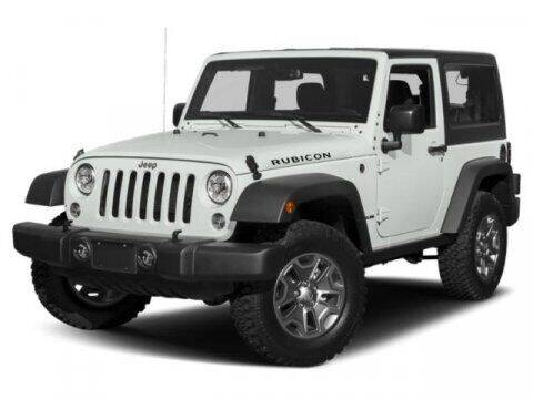 2017 Jeep Wrangler for sale at SCOTT EVANS CHRYSLER DODGE in Carrollton GA