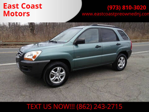 2006 Kia Sportage for sale at East Coast Motors in Lake Hopatcong NJ