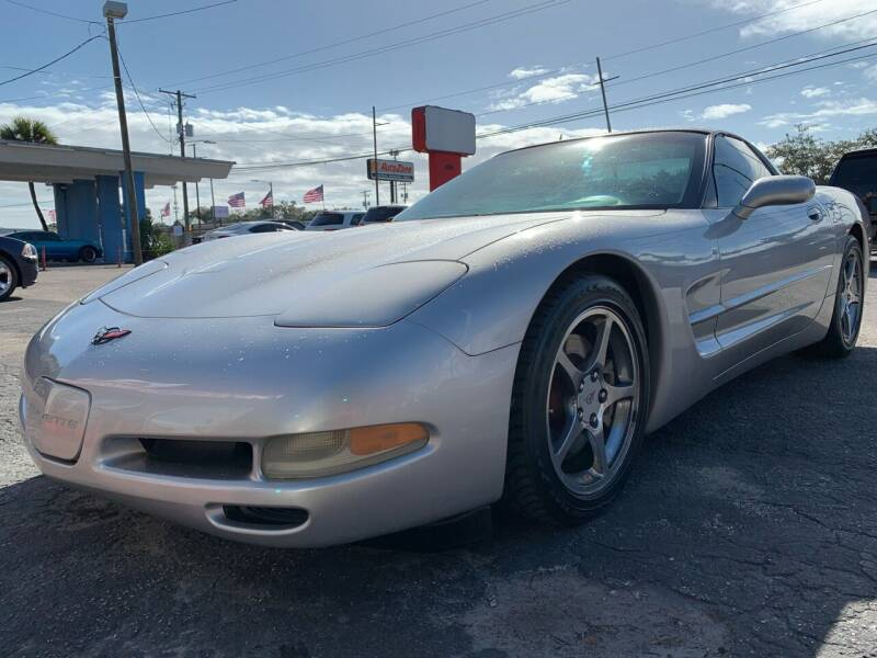 2004 Chevrolet Corvette for sale at Always Approved Autos in Tampa FL