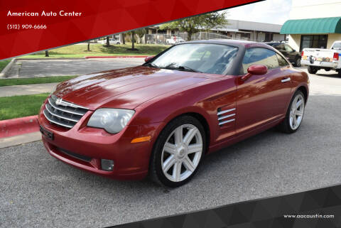 2005 Chrysler Crossfire for sale at American Auto Center in Austin TX