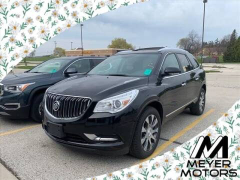 2017 Buick Enclave for sale at Meyer Motors in Plymouth WI