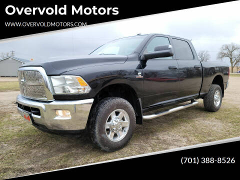 2013 RAM Ram Pickup 2500 for sale at Overvold Motors in Detriot Lakes MN