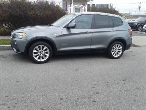 2013 BMW X3 for sale at Nelsons Auto Specialists in New Bedford MA