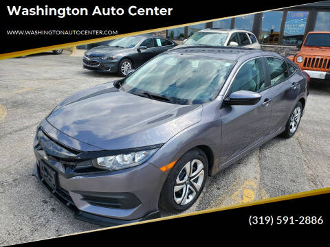 2017 Honda Civic for sale at Washington Auto Center in Washington IA