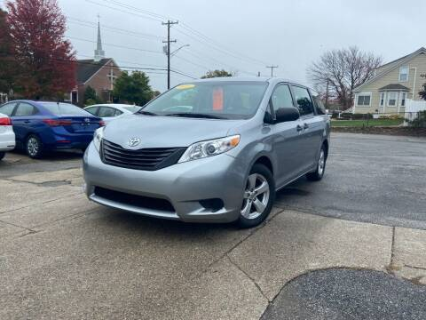 2015 Toyota Sienna for sale at Metacom Auto Sales in Ware RI