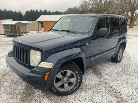 2008 Jeep Liberty for sale at Rt 33 Motors LLC in Rockbridge OH