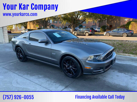 2013 Ford Mustang for sale at Your Kar Company in Norfolk VA
