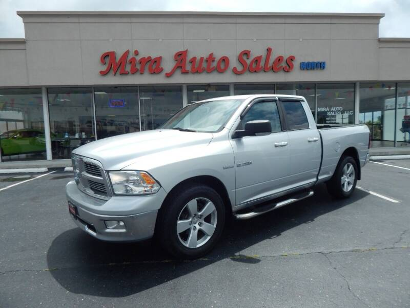 2010 Dodge Ram Pickup 1500 for sale at Mira Auto Sales in Dayton OH