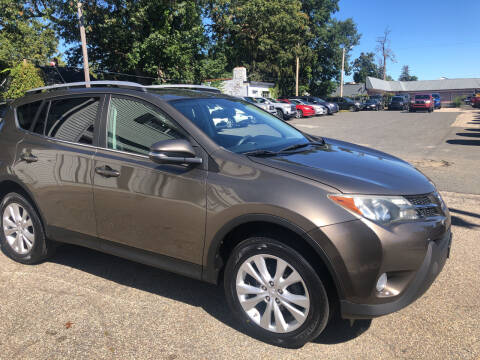 2013 Toyota RAV4 for sale at Chris Auto Sales in Springfield MA