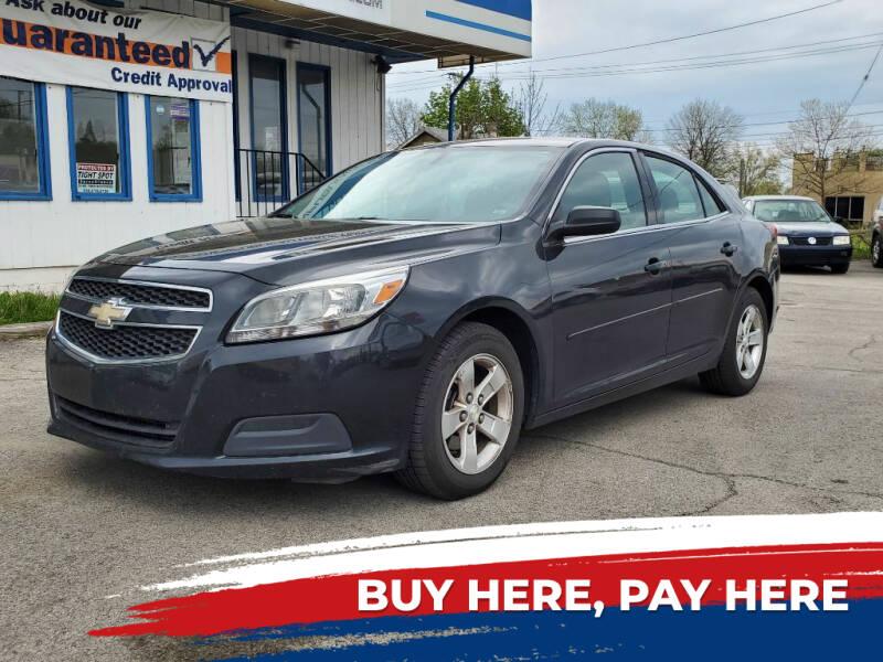 2013 Chevrolet Malibu for sale at E.L. Davis Enterprises LLC in Youngstown OH