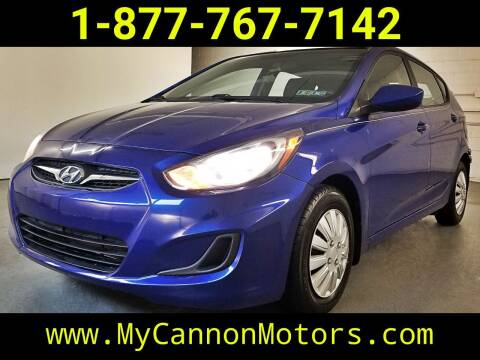 2013 Hyundai Accent for sale at Cannon Motors in Silverdale PA