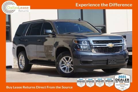 2019 Chevrolet Tahoe for sale at Dallas Auto Finance in Dallas TX