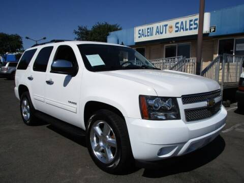 2013 Chevrolet Tahoe for sale at Salem Auto Sales in Sacramento CA