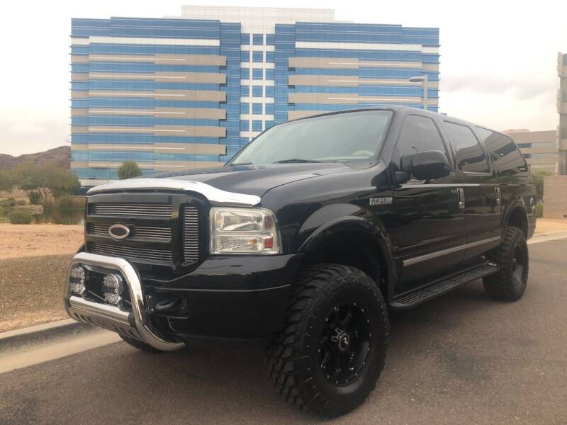 2005 Ford Excursion for sale at Day & Night Truck Sales in Tempe AZ