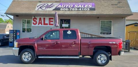 2008 Chevrolet Silverado 2500HD for sale at Ritz Auto Sales, LLC in Paintsville KY